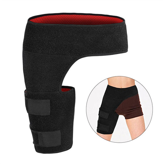 Adjustable Groin Strain Pain Wrap Hamstring Support Brace