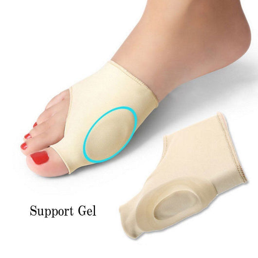 2 Pcs Bunion Corrector Gel Pad Stretch Protector