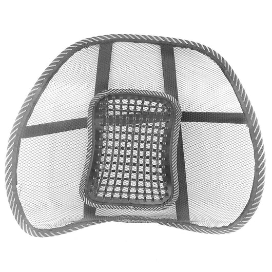 Comfortable Mesh Back Brace Lumbar Cushion Support