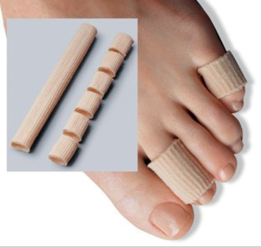 Fabric+Gel Tube Cushion Corns and Calluses Toe Protector