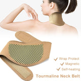 Tourmaline Self-Heating Magnetic Neck Collar