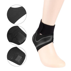 1 PCS Sports Adjustable Safety Ankle Brace Support