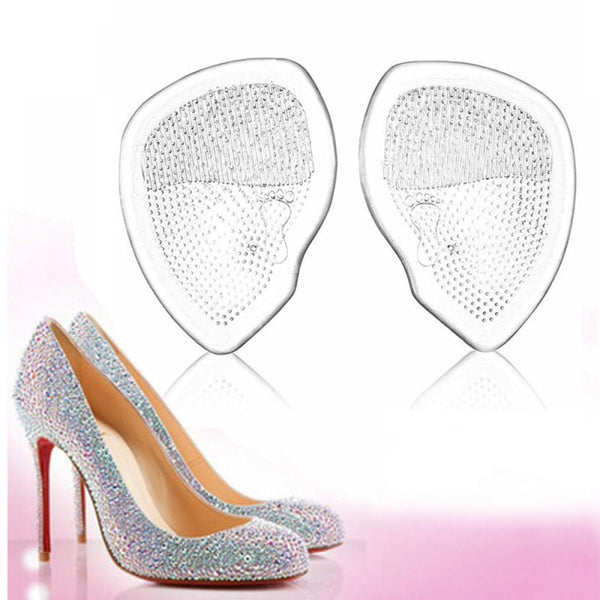1Pair High Heel Elastic Cushion Comfort silicone Gel Forefoot