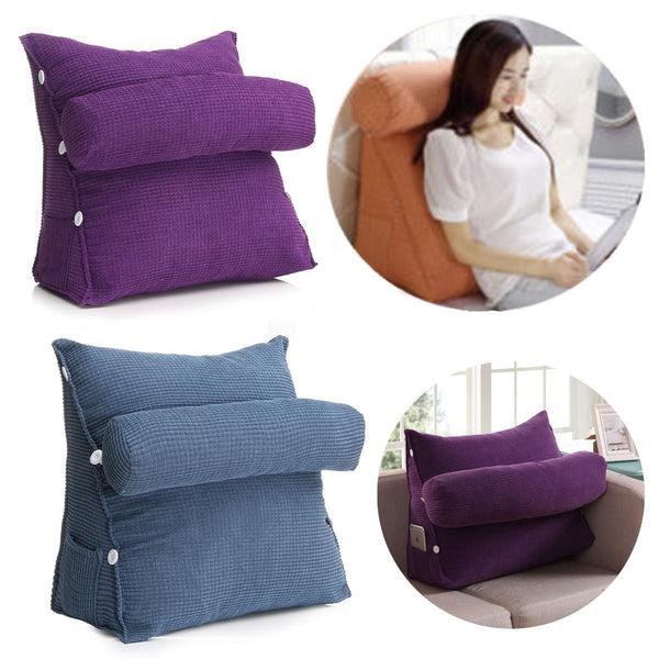Triangular Sitback Comfort Cushion