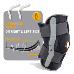 Adjustable Breathable Knee Brace Orthopedic Stabilizer
