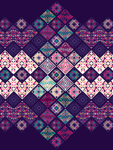 autumn winter tribal prints