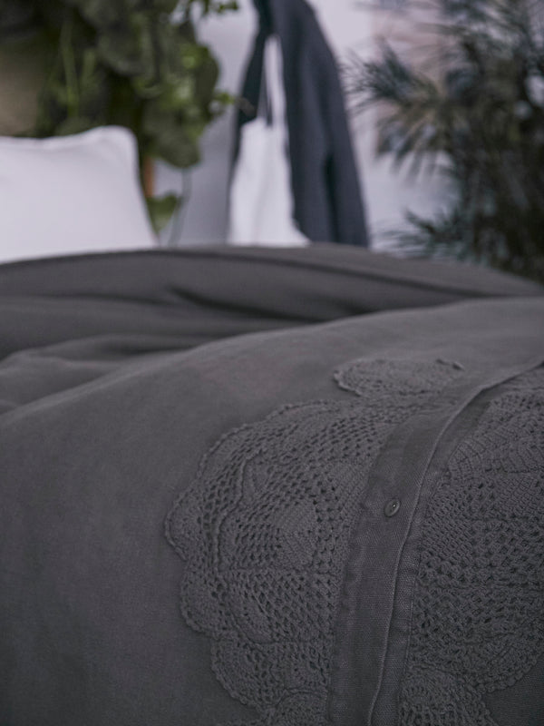 Placket Duvet Cover