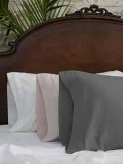 Washed Sateen Pillowcase Single