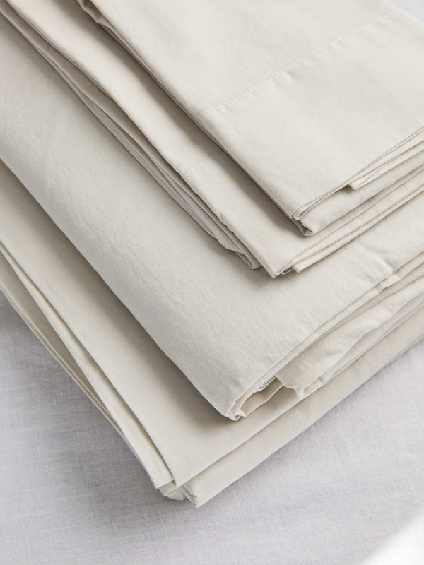 Washed Sateen Sheet Set