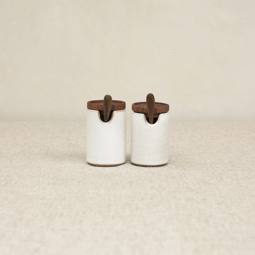 SALIM CERAMIC SALT & PEPPER SET
