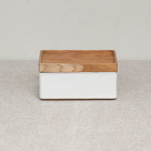 WAYAN CERAMIC  BUTTER BOX ( NEW )