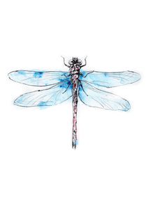 Digital Print Dragon-fly 2