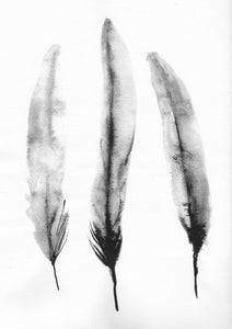 Digital Print 3 Feather