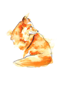Digital Print Fox