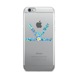 Forget-Me-Not Logo iPhone Case