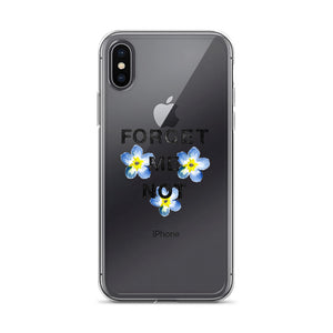Forget-Me-Not iPhone Case