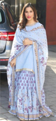 Sophie Choudary in our Powder blue sharara set