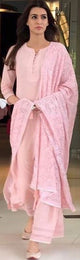 Kriti Sanon in our pretty in pink kurta set