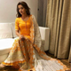 Surveen Chawla in our perfect sunset skirt