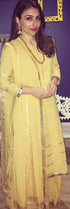 Soha Ali Khan in our light as feather pyjama set