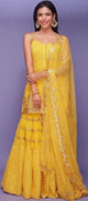 Shriya Pilgaonkar in our yellow sharara set