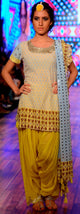 Soha ali Khan in our Punjabi salwar swag set