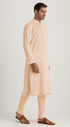 Summer is here beige kurta set