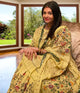 Aishwariya rai bachan in our country garden pineapple delight sharara set