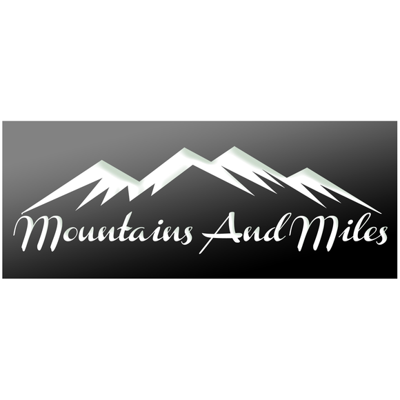 EXCLUSIVE COLLECTION - Mountains and Miles