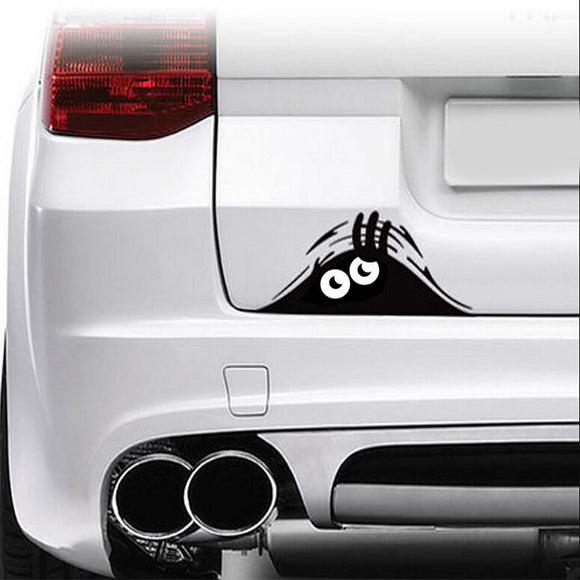 Peeking Monster Decal - Sticker It Out and More
