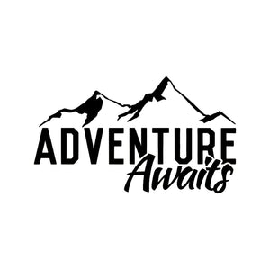 Adventure Awaits Decal - Sticker It Out and More