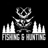 Fishing and Hunting Decal - Sticker It Out and More