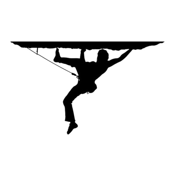Rock Climber Decal - Sticker It Out and More