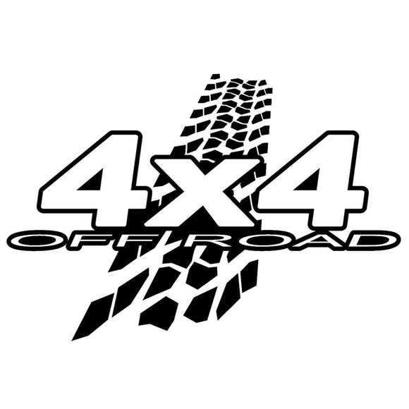 4X4 and Tread Decal - Sticker It Out and More