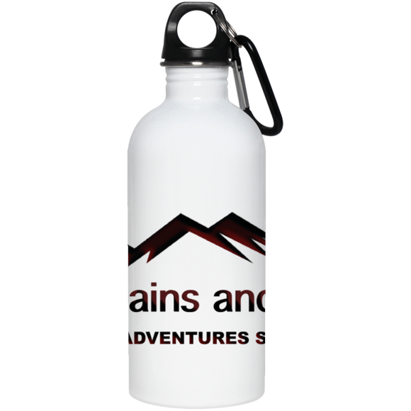 Stainless Steel Water Bottle - Sticker It Out and More