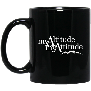 Mug - My Altitude My Attitude - Sticker It Out and More