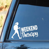 Girl's Weekend Therapy Decal - Sticker It Out and More