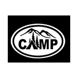 CAMP - Oval Decal - Sticker It Out and More