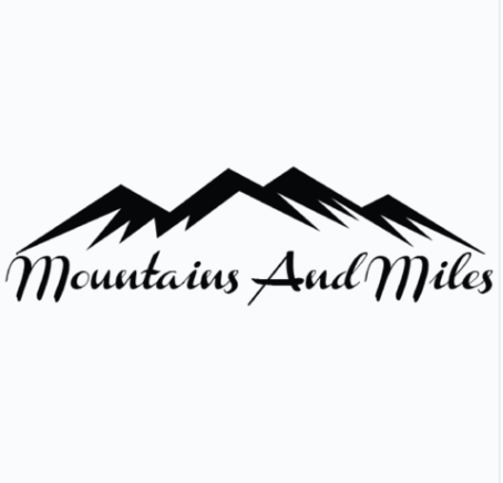 Mountains and Miles Decal - Sticker It Out and More