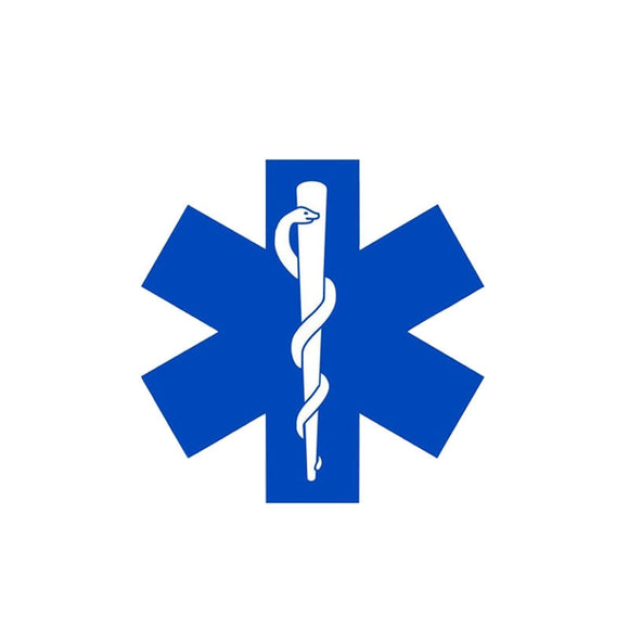 Star of Life Decal - Sticker It Out and More