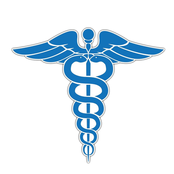 Caduceus Decal - Sticker It Out and More