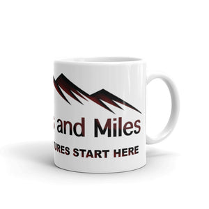Mug - The Best Adventures Start Here - Sticker It Out and More