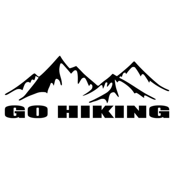 GO HIKING Decal - Sticker It Out and More