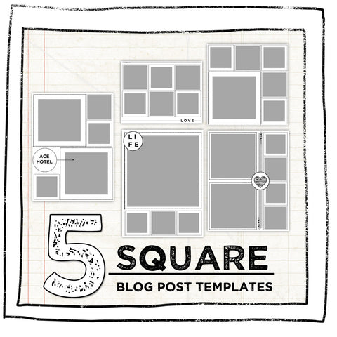 BLOG BLING- SQUARE EDITION