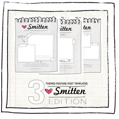 BLOG BLING- SMITTEN EDITION