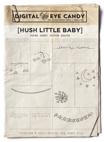 HUSH LITTLE BABY- OVERLAY SET