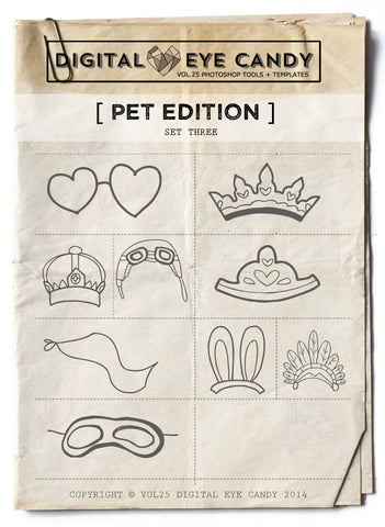 PET THEMED EDITION THREE OVERLAY SET
