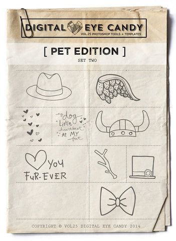PET THEMED EDITION TWO OVERLAY SET