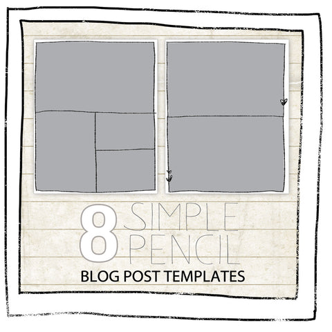 BLOG POST TEMPLATE- SIMPLE PENCIL