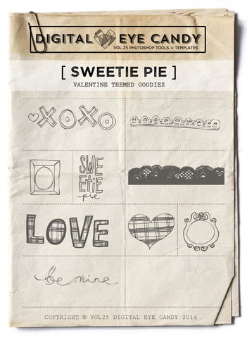 SWEETIE PIE OVERLAY SET